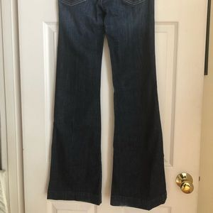 Express DPD Flare Leg Jeans